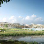 Chaumont Centre Aquatique Sportifs Et Culturel - Vu Depuis Les Solariums Extérieurs Et Des Activités Aquatiques De Loisirs